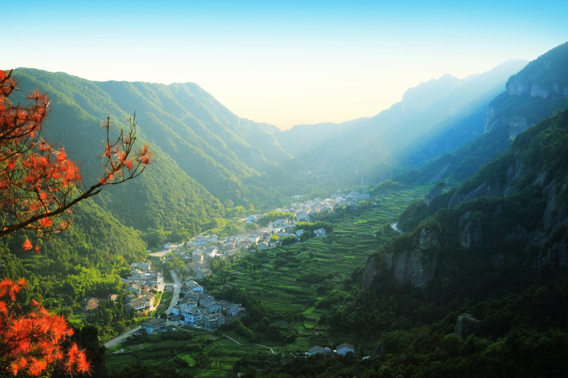 Горы Яндан в Вэньчжоу