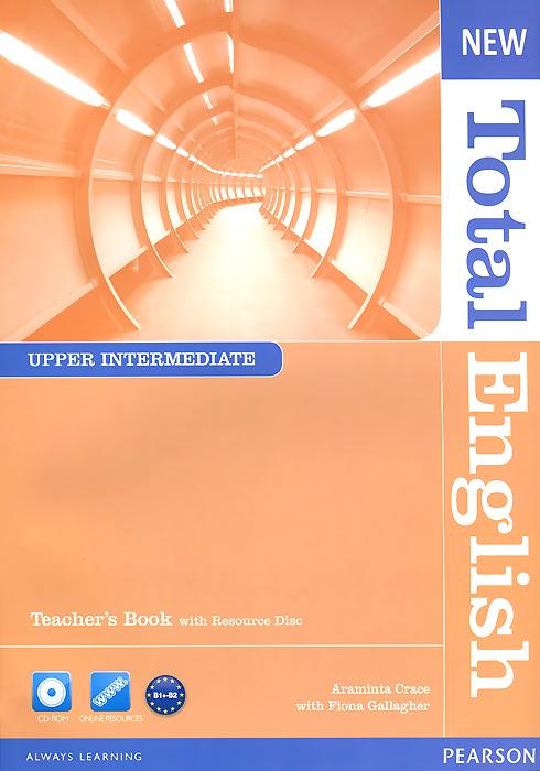 Учебник New Total English for upper intermediate learners of English